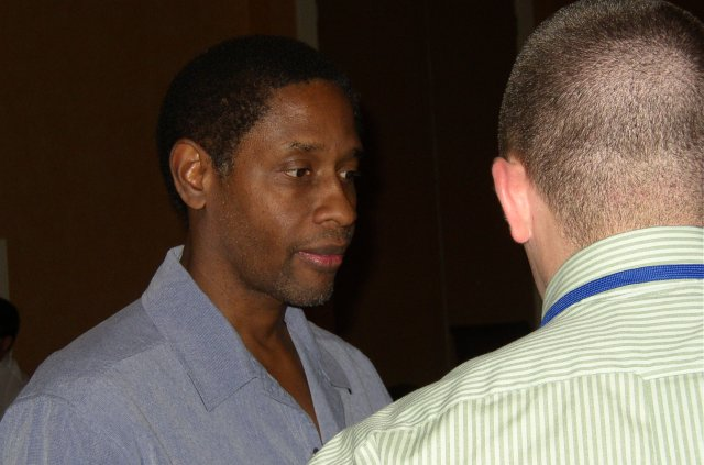 Tim Russ at the banquet in Orlando, Oct. 28, 2006