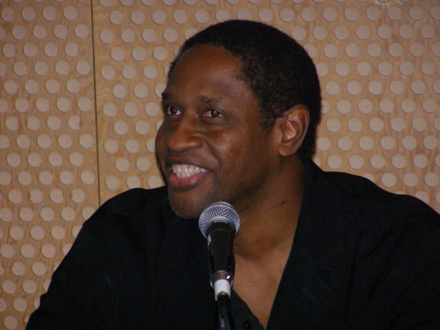 Tim Russ in a panel discussion in Seattle, Sept. 9, 2006