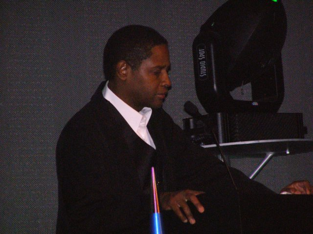 Tim Russ at the banquet in Seattle, Sept. 9, 2006