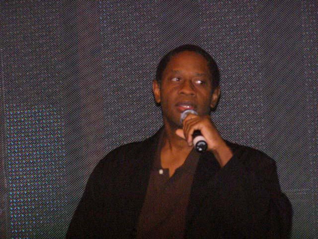 Tim Russ on stage in Seattle, Sept. 10, 2006