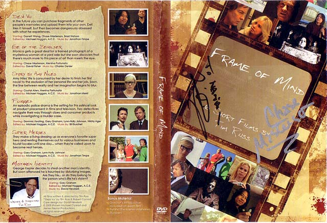 Cover of the DVD 'Frame of Mind'
