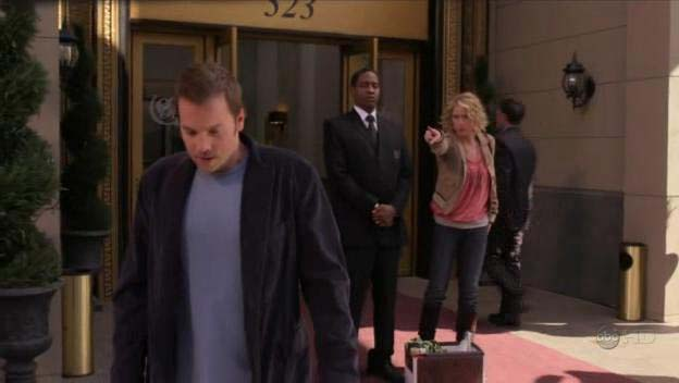 "Tim as Frank, the Doorman, ep. ""The Butterflies"" of ""Samantha Who?"