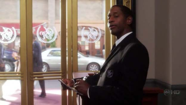 "Tim as Frank, the Doorman, ep. ""The Hypnotherapist"" of ""Samantha Who?"""