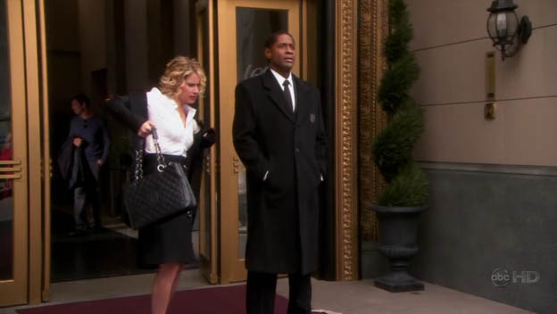"Tim as Frank, the Doorman, ep. ""The Job"" of ""Samantha Who?"""