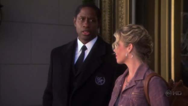 "Tim as Frank, the Doorman, ep. ""The Restraining Order"" of ""Samantha Who?"""
