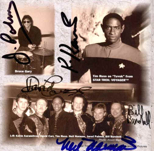 picture from the booklet of album Tim Russ